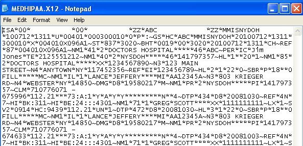 What are the snip edi validation levels « rdpcrystal.